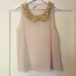 B. Jewel Crochet Collar: